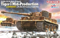 Dragon 6624 1/35 Pz.Kpfw.VI Ausf.E Tiger I Mid Production w/Zimmerit