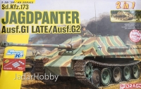 Dragon 6924 1/35 Jagdpanther Ausf.G1 Late Production / Ausf.G2 (2 in 1)