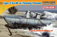 Dragon 7485 IJN Type 2 Ka-Mi w/Floating Ponton (1:72)