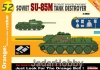 Dragon 9152 1/35 Soviet SU-85M Tank Destroyer (Cyber-Hobby)