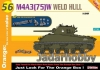 Dragon 9156 1/35 Sherman M4A3(75)W Weld Hull