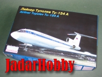 Eastern Express 14405 RAD Tu-154 A Airliner (1/200)