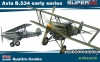 Eduard 4451 - 1/144 Avia B.534 early series QUATTRO COMBO