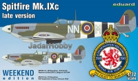 Eduard 7431 1/72 Spitfire Mk. IXc late version - Weekend Edition