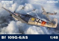 Eduard 84169 1/48 German WWII fighter Bf 109G-6/AS  Weekend Edition