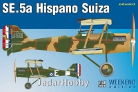 Eduard 8453 1/48 SE.5a Hispano Suiza - Weekend Edition