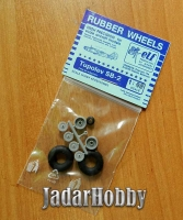 ELF 4825 1/48 Rubber Wheels for Tupolev SB-2