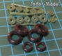 ELF 7237 Rubber Wheels for Su-24 (1:72)