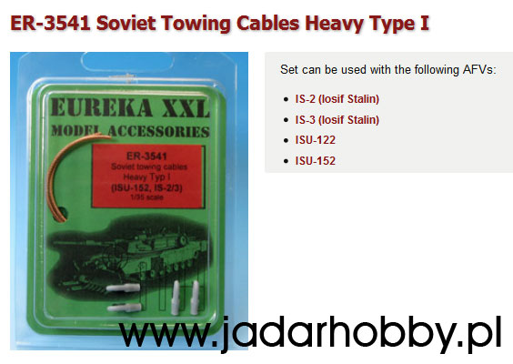 Eureka ER3541 - Soviet Towing Cables Heavy Type I (1/35)