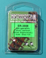Eureka ER-3558 1/35 Towing cables for M3 Lee/Grant, M18 Hellcat, M3/M5 Stuart, T17E1 Staghound
