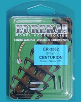 Eureka ER-3562 1/35 Towing cable for British Centurion Tanks