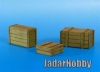 Eureka E-010 1/35 Wooden Crates (General Purpose)