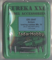 Eureka ER-3547 1/35 British towing cable Mark IV for Archer SPG