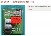 Eureka ER-3557 1/35 Towing cable for T-55