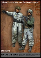Evolution EM-35193 1/35 German Tankmen and Panzergrenadier
