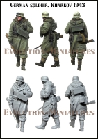 Evolution EM-35203 1/35 German Soldier, Kharkov 1943