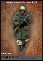 Evolution EM-35205 1/35 German soldier. Kharkov 1943