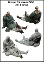 Evolution EM-35124 1/35 German SS Soldier (1944-45)