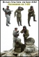 Evolution EM-35162 1/35 Soviet Tank Crew and Scout WW2 (for T-60)