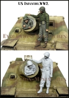 Evolution EM-35188 1/35 WW2 US Infantry