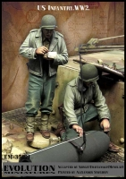 Evolution EM-35191 1/35 WW2 US Infantry