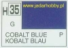 Mr.Hobby 035 (Gunze Sangyo) Aqueus  Hobby Color Color  - H35 COBALT BLUE
