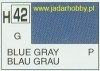 Mr.Hobby 042 (Gunze Sangyo) Aqueus  Hobby Color Color  - H42 BLUE GREY