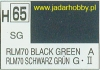 Mr.Hobby 065 (Gunze Sangyo) Aqueus  Hobby Color Color  - H65 RLM70 BLACK GREEN