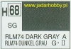 Mr.Hobby 068 (Gunze Sangyo) Aqueus  Hobby Color Color  - H68 RLM74 DARK GRAY