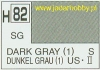 Mr.Hobby 082  (Gunze Sangyo) Aqueus  Hobby Color Color  - H82 DARK GRAY (1)