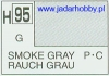 Mr.Hobby 095 (Gunze Sangyo) Aqueus  Hobby Color Color  - H95 SMOKE GRAY