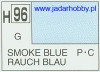 Mr.Hobby 096 (Gunze Sangyo) Aqueus  Hobby Color Color  - H96 SMOKE BLUE