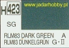 Mr.Hobby 423 (Gunze Sangyo) Aqueus  Hobby Color Color  - H423 RLM83 DARK GREEN