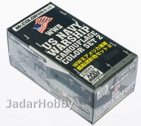 Mr.Hobby CS644 WWII US Navy Warship Camouflage Color Set 2