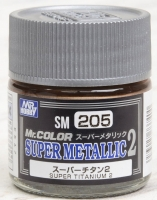 Mr.Hobby SM-205 Super Titanium 2 (10ml)