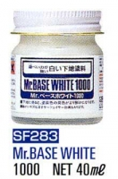 Mr.Hobby SF283 Mr. Base White 1000 40ml