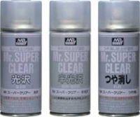 Mr.Hobby B514 Mr.Super Clear Flat (170ml)