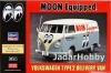 Hasegawa 20249 1/24 Volkswagen Type 2 Delivery Van Moon Equipped