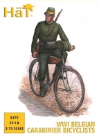 Hat 8275  1/72 WWI Belgian Carabinier Bicyclists