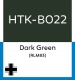 Hataka Hobby HTK-B022 - Dark Green (RLM83) (10ml)