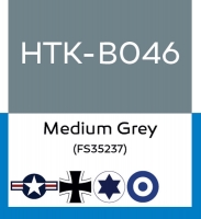Hataka Hobby HTK-B046 Medium Grey (FS35237) (10ml)