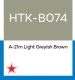 Hataka Hobby HTK-B074 A-21m Light Greyish Brown (10ml)