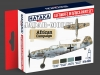 Hataka Hobby HTK-AS06 Luftwaffe in Africa (paint set 4 x 17ml)