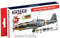 "Hataka Hobby HTK-AS103 ""WW2 Italian Air Force vol. 1"" (paint set 6 x 17ml)"