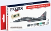 Hataka Hobby HTK-AS17 Modern Polish Air Force  vol. 1 (zestaw 6 x 17ml)