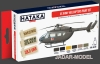 Hataka Hobby HTK-AS19 US Army Helicopters Paint Set (zestaw 6 x 17ml)