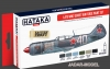 Hataka Hobby HTK-AS20 Late WW2 Soviet Air Force paint set (zestaw 6 x 17ml)
