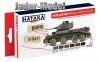 Hataka Hobby HTK-AS22 British AFV paint set (WW2 European colours)