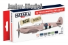 Hataka Hobby HTK-AS23 RAF Photo Reconnaissance Units (zestaw 6 x 17ml)