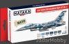 Hataka Hobby HTK-AS30 USAF Aggressor Squadron paint set vol. 2 (zestaw 6 x 17ml)